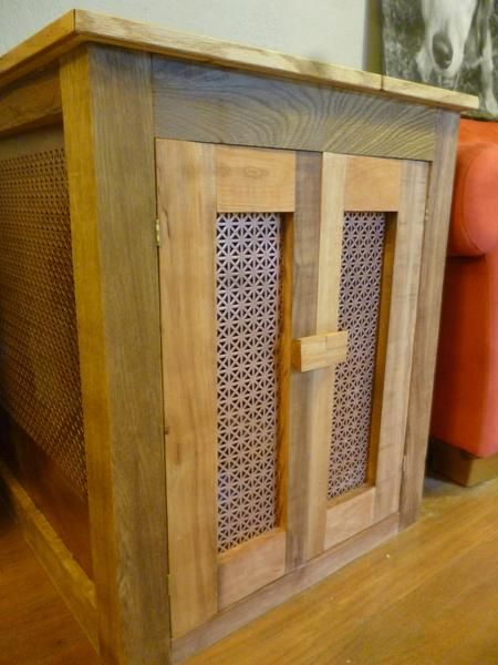 best Dog Crate End Table  on Pinterest