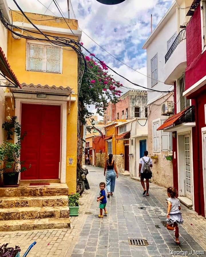 زواريب صور القديمة صور جنوب لبنان Old Houses Photo South Lebanon