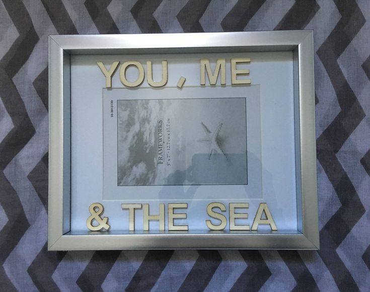 You, Me & The Sea - Word Wood Letters - Frame Display Wall Hanging - Coastal Decor - Silver - Beach Decor - Home Decor - Salty Air by SaltyAirInspirations on Etsy https://www.etsy.com/ca/listing/584078567/you-me-the-sea-word-wood-letters-frame