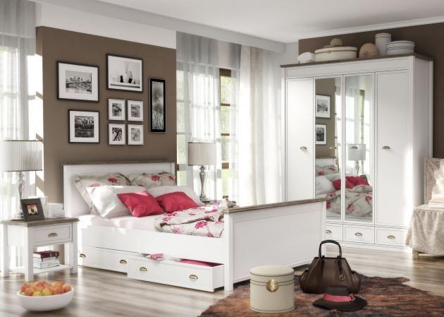 Die besten 25+ San remo eiche Ideen auf Pinterest Garderobe - schlafzimmer mit bettüberbau