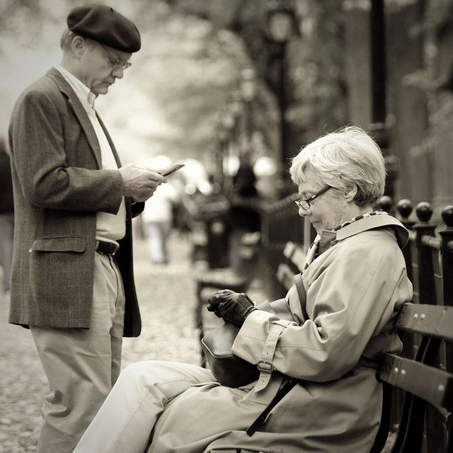 Growing Old Together in the age of smart phones