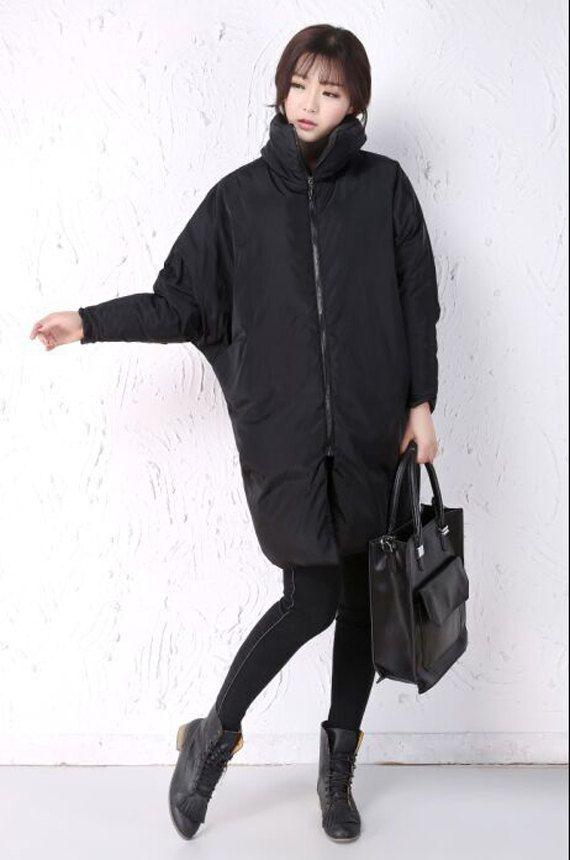 Winter Down Jacket A-Line Down Coat Thick Women от liferollpaint