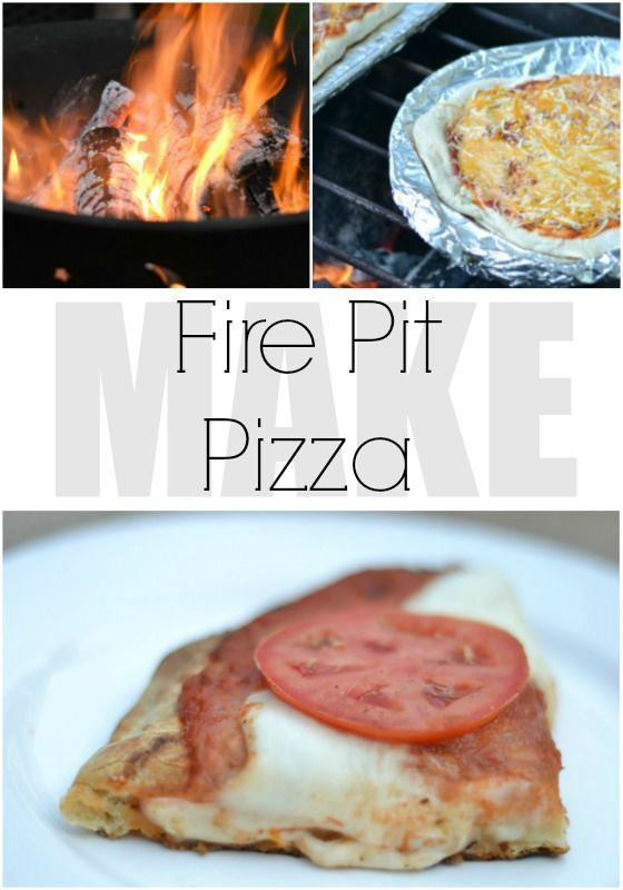 Fire pits are fun any time of year, but for those endless summer nights, throw some pizza on the fire. These are great tips to get it right the first time. - iamahomemaker.com - fire pit pizza