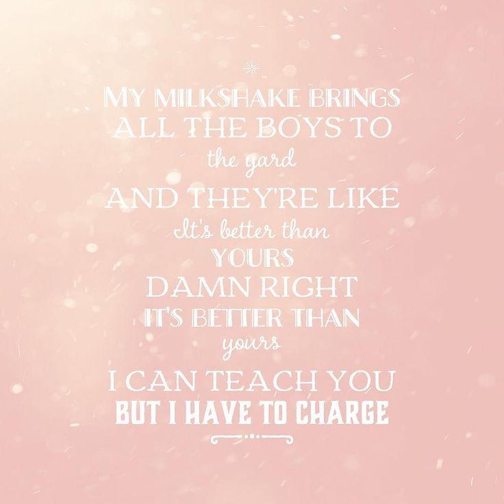 Kelis - Milkshake #milkshake #kelis  #musicquote #lyrics #music #song #songquote #inspire #quote #quotes #lyricsquote #instalyrics