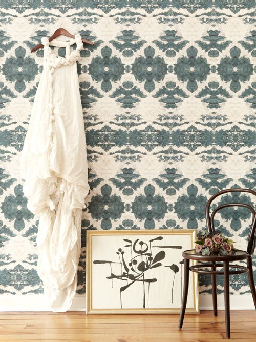 THE LORA COLLECTION ::the dance::olive:: #wallpaper #interiors #home #homedecor #decor #pink #surfacedesign #textile