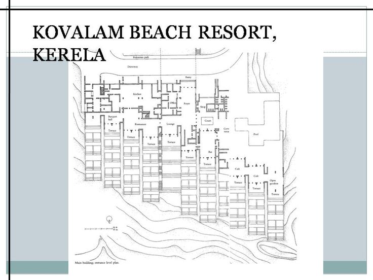 Kovalam Beach Resort Charles Correa Plan