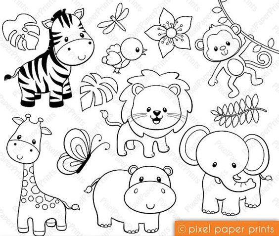 Mejores 162 imágenes de SAFARI Y ARCA DE NOE en Pinterest | Selvas ...