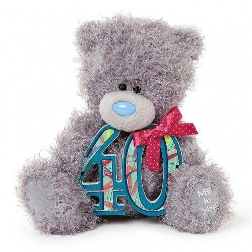 Tatty Teddy Bear Me To You 40th Birthday Bear. Available @ Li'l Treasures $23. (International Shipping available)