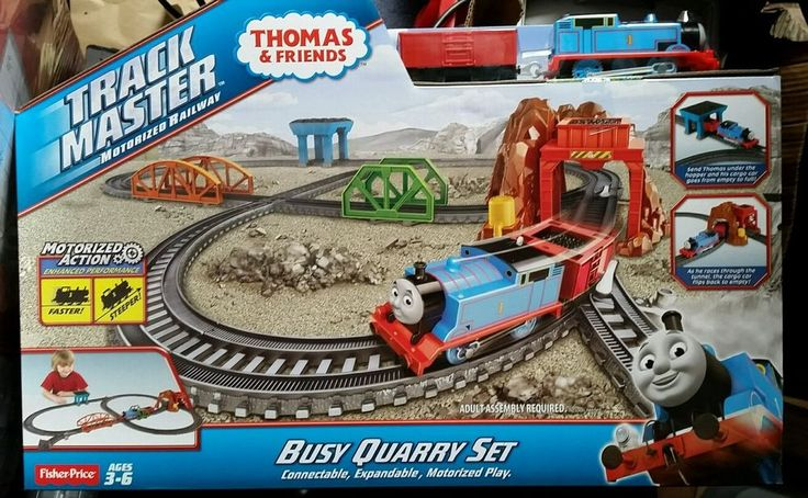Thomas & Friends Trackmaster Busy Quarry Set BNIB New and Sealed