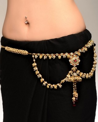 1000 Images About Jhumkis Kamarband On Pinterest