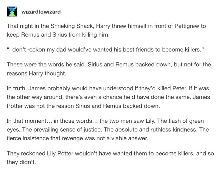 That makes much more sense than James not wanting his friends to become murderers