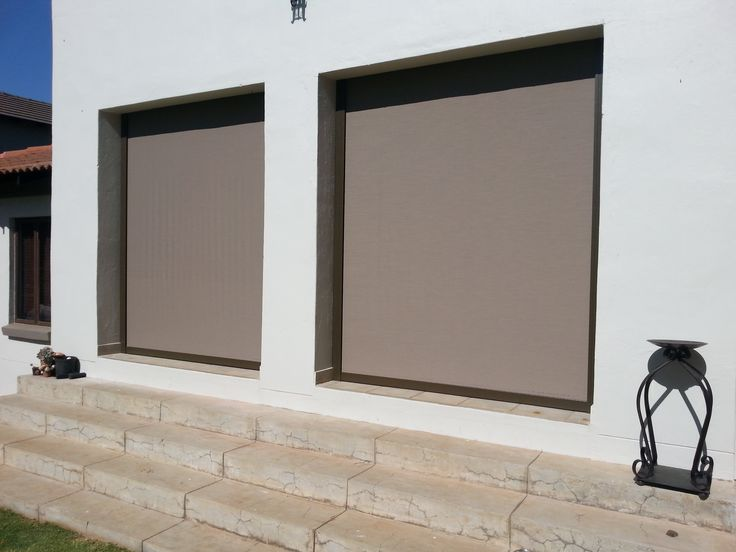 Outdoor Blinds-Stunning!