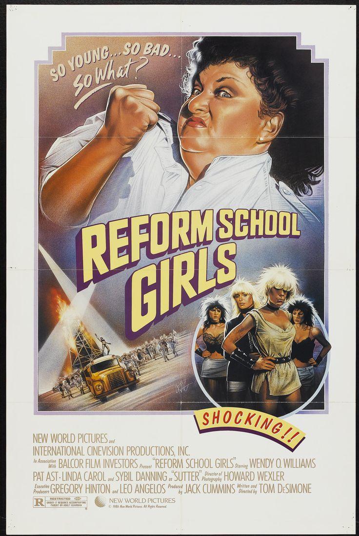 Reform School Girls (1986) Stars: Linda Carol, Wendy O. Williams, Pat Ast, Sybil Danning ~ Director: Tom DeSimone