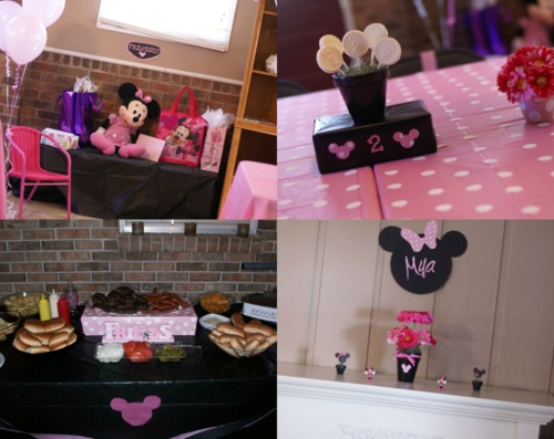 Mya's 2nd birthday party- (Part two) minnie mouse 2nd birthday party