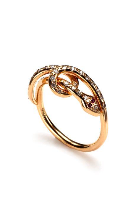 Yes, please. Ileana Makri gold twisted snake ring at @ModaOperandi, of course.