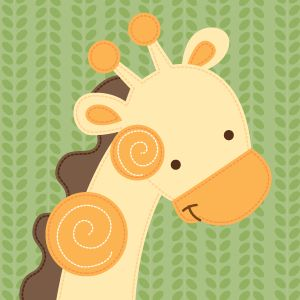 Jungle Friends Giraffe