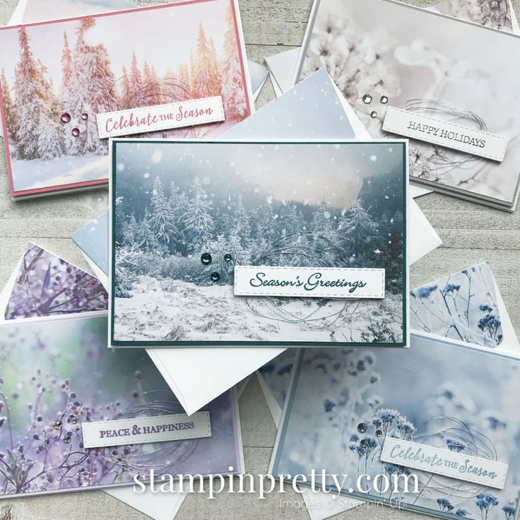 Simple Saturday: Feels Like Frost Holiday Note Cards