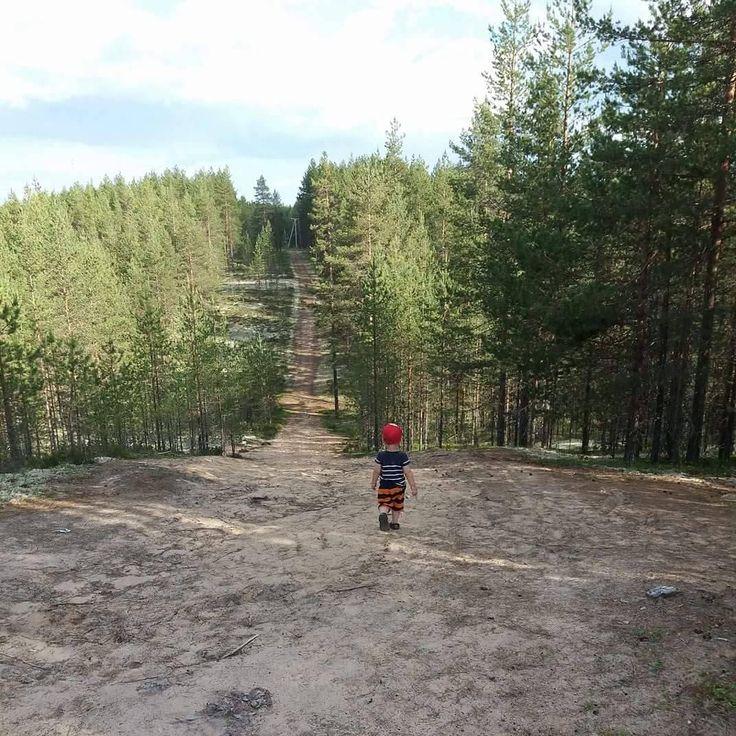 Sisu 2v samoilee Rokualla. Kesäkuvakisa Rokua Health & Spa Hotel, Suomi