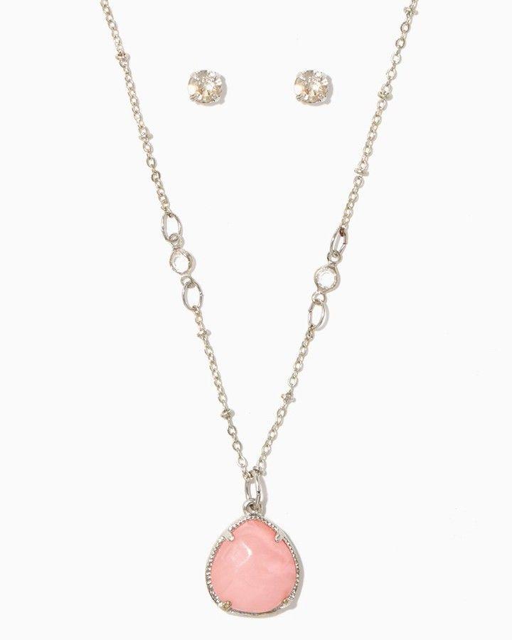 Charming charlie Nekane Pendant Necklace Set