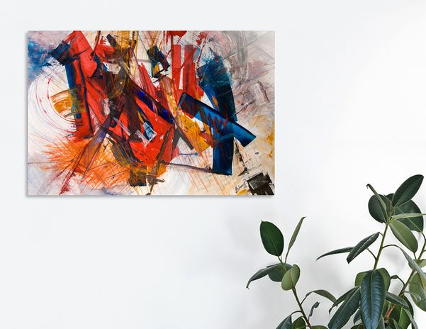 """Discover «""""Anger""""», Limited Edition Acrylic Glass Print by Bianca  Paraschiv Art - From $99 - Curioos"""