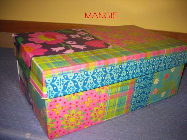 Caja Decorativa Carton Personalizada