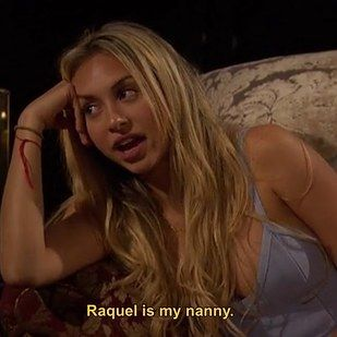 """Corinne has done a lot of things that confuse the other ladies on the show, but one of the weirder confessions was that she has a NANNY, yes a nanny, named Raquel.   We Tried Corinne's Cheese Pasta From """"The Bachelor"""" So That Literally No One Else Has To"""
