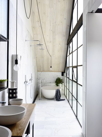 17 Best Ideas About Narrow Bathroom On Pinterest Small