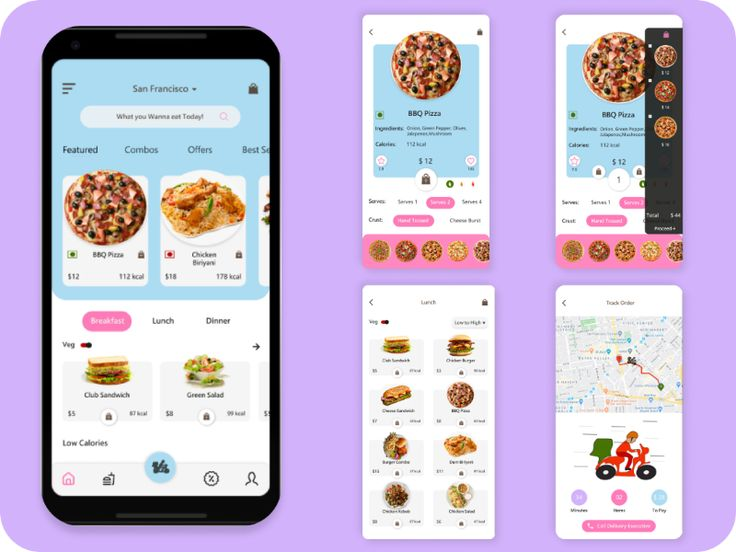 Hi creativity people this is my first food delivery app