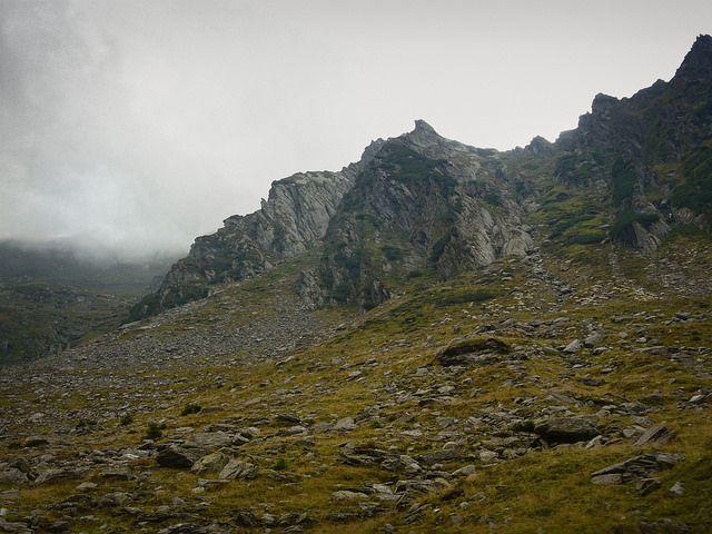 View from the Transfăgărăşan Road, Transylvania