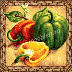 17.64 Sezonul ardeilor Culori: 27 Dimensiune: 15 x 15 cm Pret: 49.10 lei