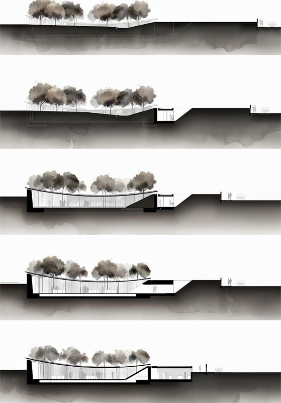 catenary structure covered with glass. RCR arquitectes. les cols. <3