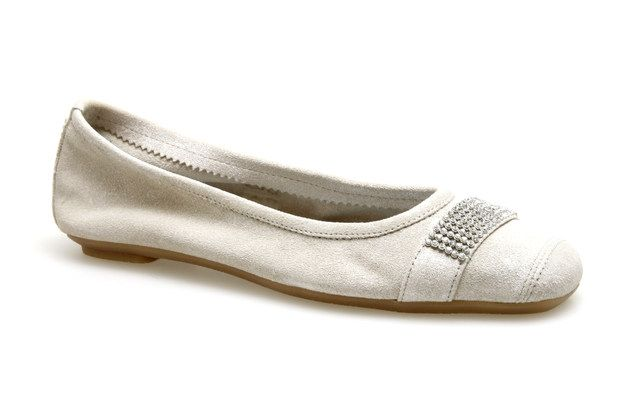Ballerines REQINS HOLIDAY STAR Blanc - Chaussures femme