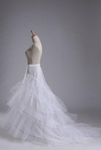 Amazon.co.jp: テーリングパニエ/ワイヤーパニエ/ドレス用下着ウェディングドレス_ウエディングドレス_大人用 ワイヤー入りパニエ・ペチコートlfy174: 服&ファッション小物