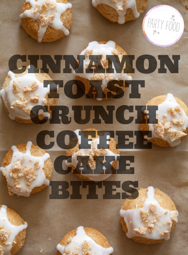 cinnamon-toast-crunch-coffee-cakeDesserts Recipe, Coffee Cakes, Brunches, Spoons Forks Bacon, Cinnamon Toast Crunches, Cinnamontoast, Cake Bites, Breakfast Bites, Crunches Coffee