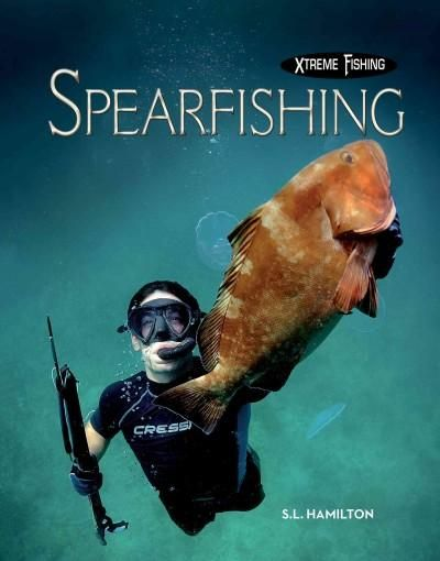 Offers information on spear fishing, including types of spears, shoreline spearfishing, scuba spearfishing, and freedive spearfishing. Color: Scuba.