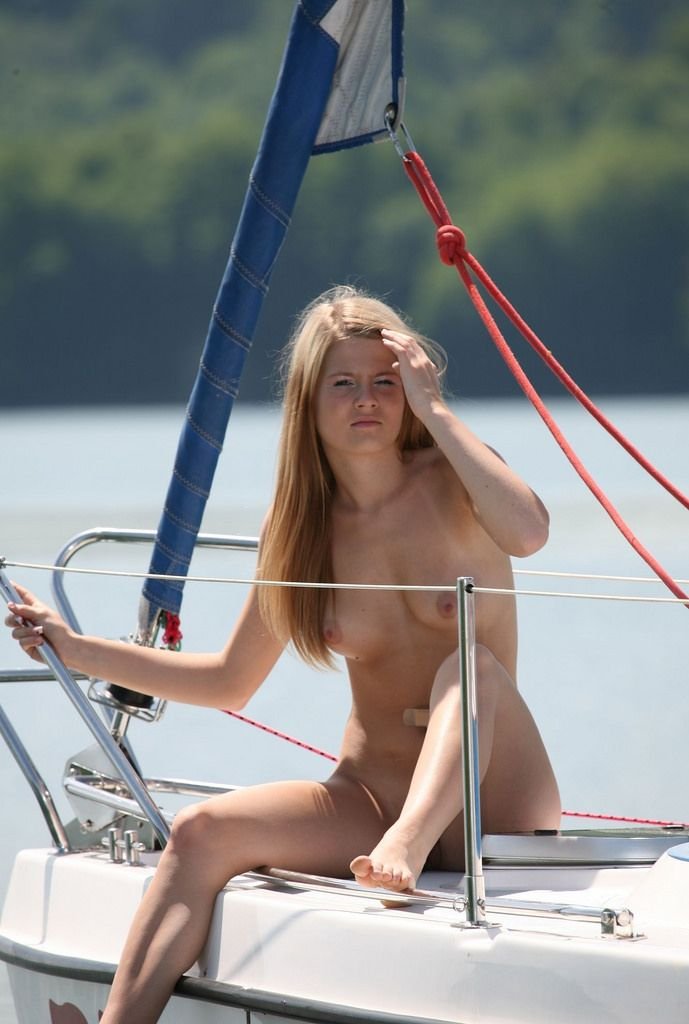 Nude Babes On Boat 6