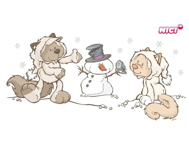 Wandtattoo Snow Cats