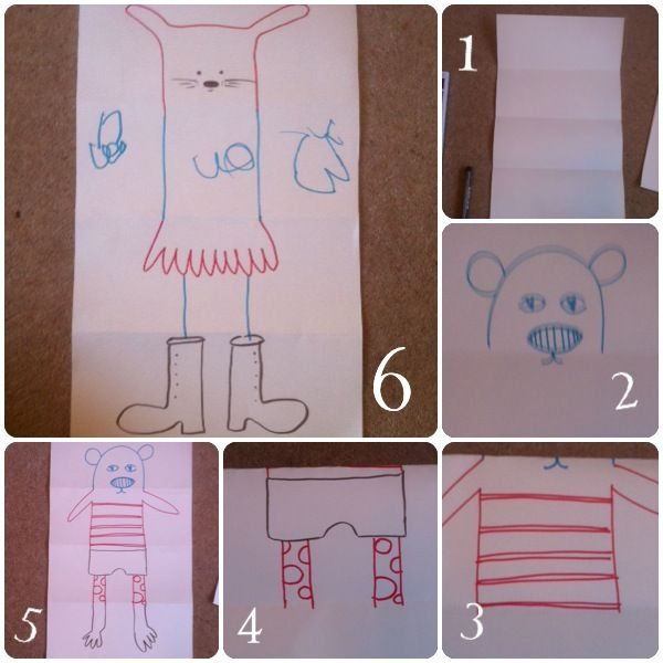 21 papercraft ideas, perfect paper game for children, crafts for kids, drawing with kids