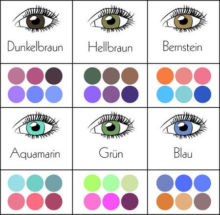Eye Color & best eyeshadows #bestmatch