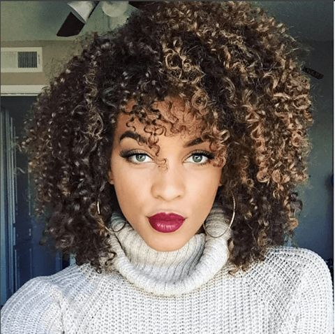 Fierce Natural Curls IG:@brittany.joelle  ‪#‎naturalhairmag‬