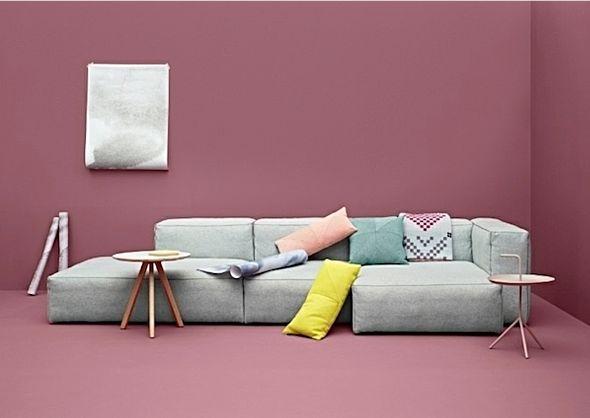 Flexibel zitten met een modulaire bank | Interieur design by nicole & fleur