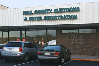Hall County Elections & Voter Registrations:  This office is responsible for voter registration for Hall County and all municipalities in the county.