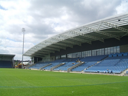 b2net stadium or whatever it's now called in Chesterfield, saw Gills win 1-0 here with Cody McDonald scoring his last goal before Coventry recalled him