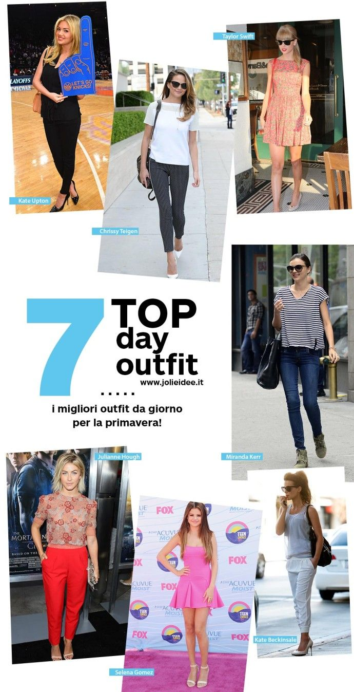 Outfit da giorno Primavera 2014 - 7 Look delle Star da copiare #day #outfit #celebrity #style #fashion