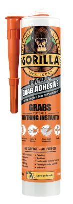 Gorilla Glue Grab Adhesive 290ml | Wickes.co.uk
