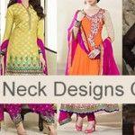 V Neck Churidar Ladies Suit Square Gala Designs Catalog