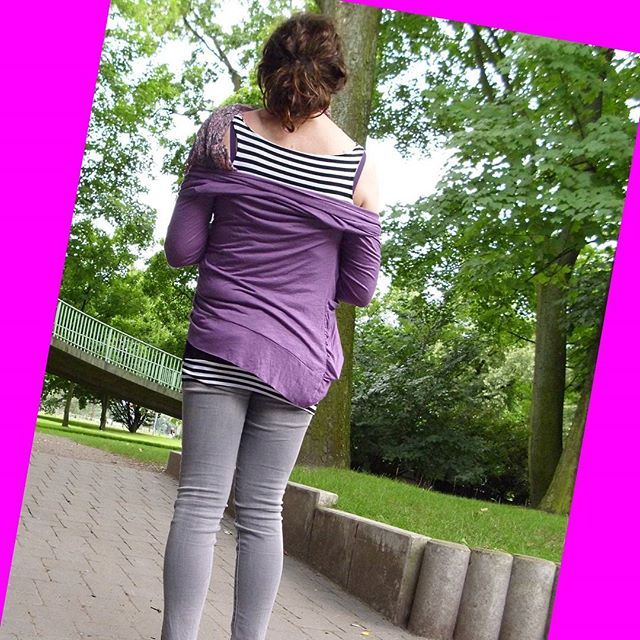 #lila #cardigan #seilbahnköln