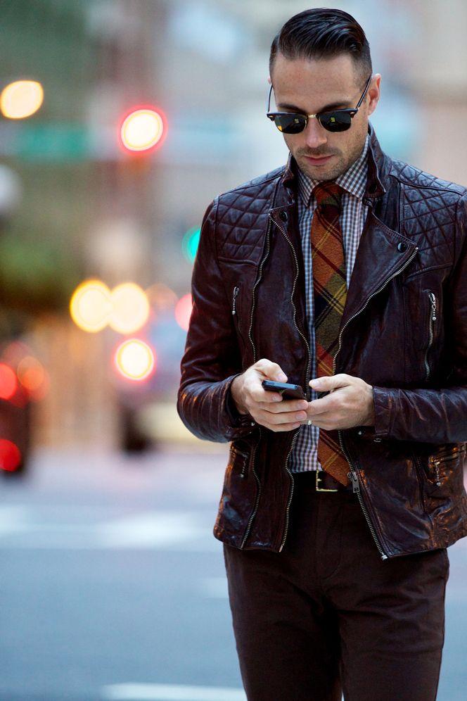 Oxblood Leather Jacket Leather Men Men S Fashion Pinterest