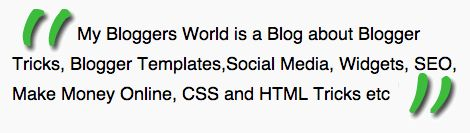 Awesome CSS Styled Blockquote For Your Blog