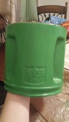 ways to reuse plastic coffee containers - Google Search